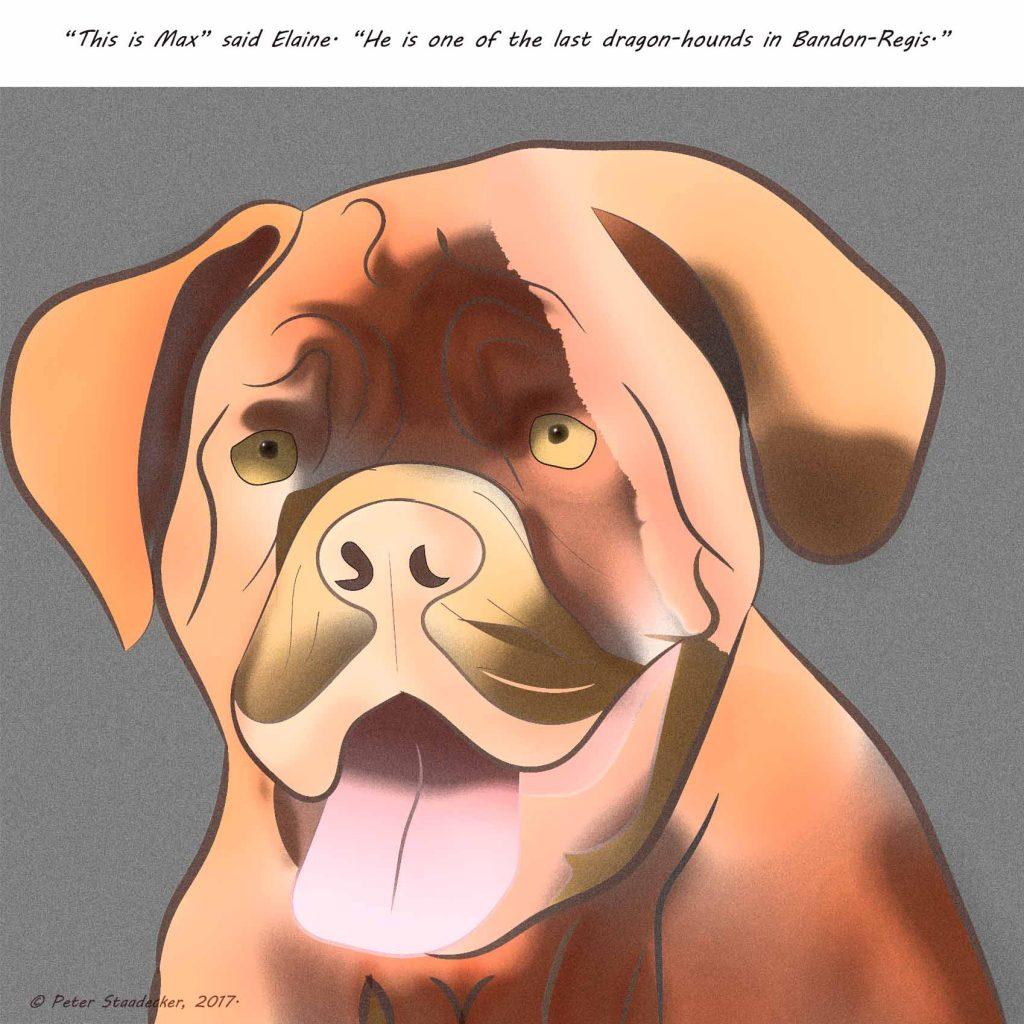 Max, The Dragonhound